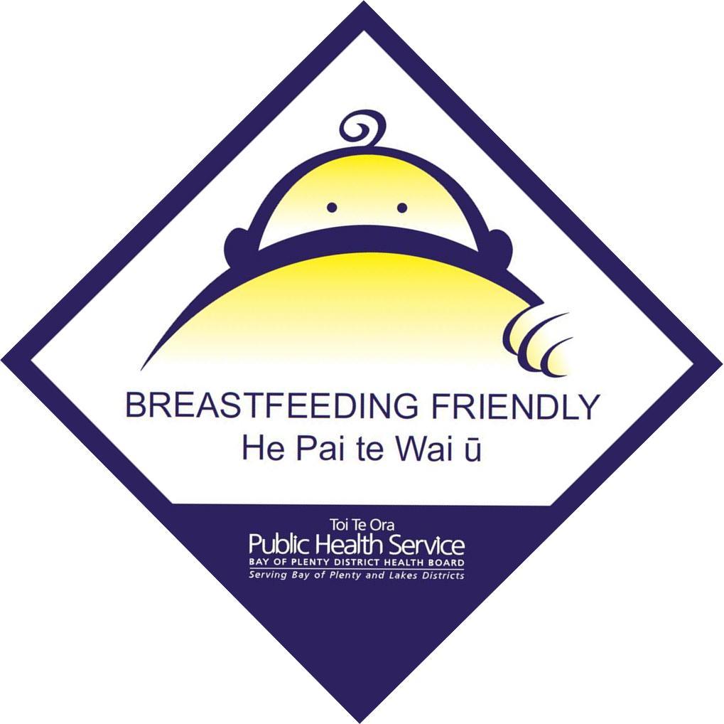 Breastfeeding Friendly Sign